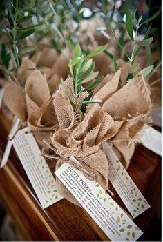 Plantas e sementes para oferecer no casamento   O Nosso Casamento