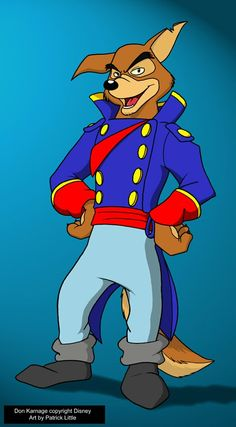 Don Karnage, from the best Disney TV series ever, Talespin. I loved the show as a kid, and will still watch it if I catch reruns of it. Karnage was the . Saturday Morning Cartoons 80s, Old School Cartoons, 90s Cartoons, Walt Disney Cartoons, Walt Disney Animation, Disney Pixar, Disney And More, Disney Love, Childhood Characters