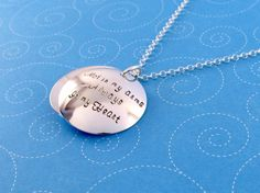 Adoption Locket, Not in My Arms, Always in my Heart, Gift for Birthmother, Personalized Locket, Adoption Necklace Sterling Silver on Etsy, $70.00
