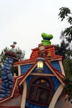 Goofy's house in ToonTown at Disneyland taken by Tierny Garrison on 6/8/2010.