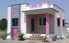 The city of Mumbai in Maharashtra gets most of the attention due to its Bollywood connections, but the city of Pune is the preferred choice for many when it comes to living. 3 Storey House Design, Single Floor House Design, Bungalow House Design, Small House Design, Modern House Design, Latest House Designs, Cool House Designs, House Construction Plan, Indian House Plans