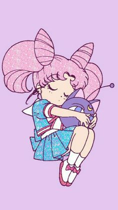 Imagen de sailor moon, anime, and chibiusa