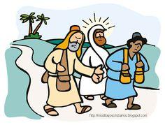 Mis Dibujos Cristianos: Camino a Emaús / Road to Emaus