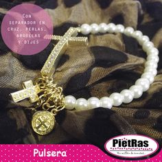 Bonita pulsera ideal para recuerditos ¿Te gusta?   #UnMillónDeCuentas