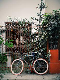 Bike. #streetphotography #vscocam #Miraflores #Lima #Peru #limaperu #commuter #bike | Ren Hoeck | VSCO Grid