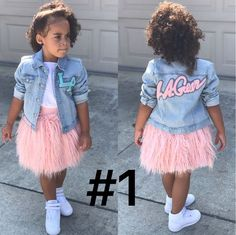 Girls Dresses For Latest Fashion Cute Little Girls Outfits, Kids Outfits Girls, Toddler Girl Outfits, Girls Dresses, Cute Kids Fashion, Little Girl Fashion, Toddler Fashion, Fashion Children, Moda Kids