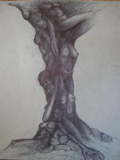 Intertwining  pencil drawing Pencil Drawings, Website, Pencil Art