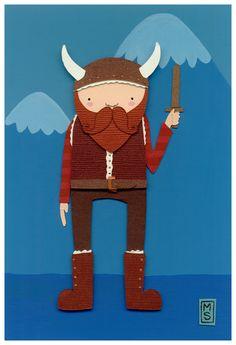 Little Viking by renton1313.deviantart.com on @deviantART