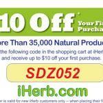 iHerb coupon ★ SDZ052 ★