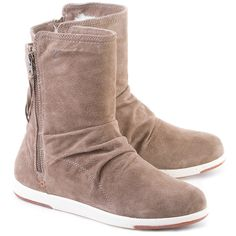 EMU Barakee - Brązowe Zamszowe Kozaki Damskie #mivo #mivoshoes #shoes #buty #emu #winter #suede #cold #weather #boots #waterproof #beige #brown #colors #fashion #popular #style #stylish #new #collection #newcollection #snow #2015 #2016