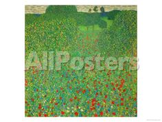 A Field of Poppies, 1907 by Titian (Tiziano Vecelli) Landscapes Giclee Print - 61 x 46 cm