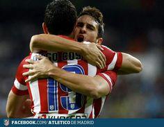 Real Madrid 0- Atletico de Madrid 1. Liga 2013