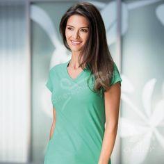 Tricou de dama Dream:   Tricou de dama de calitate, cu maneca raglan; Compozitie material: Single Jersey, 95 % bumbac, 5 % elastan Işi păstrează mai bine în timp forma datorită adaosului de elastan;