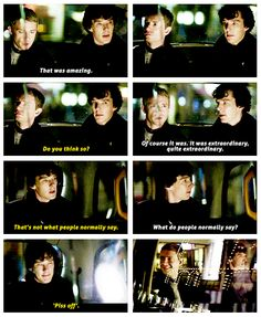 What I think is amazing about this scene is that Watson did not immediately correct Sherlock's assumption that Harry was male. He did not feel the need to prove sherlock wrong and didn't mention it until he asked about the accuracy.