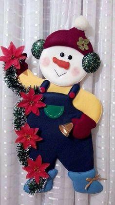 Christmas Sewing, Felt Christmas, Country Christmas, Christmas Projects, Christmas Wishes, Handmade Christmas, Christmas Stockings, Christmas Centerpieces, Christmas Tree Decorations