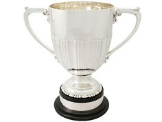 Sterling Silver Presentation/Champagne Cup - Antique Edwardian SKU: A3394 Price GBP £2,450.00 http://www.acsilver.co.uk/shop/pc/Sterling-Silver-Presentation-Champagne-Cup-Antique-Edwardian-52p4763.htm#.VgEIPJcYHfc