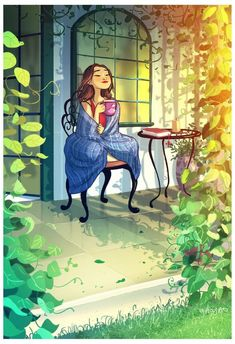 Beautiful art illustrations by Yaoyao Ma Van As Art Shared by Veri Apriyatno Artist . Art And Illustration, Art Illustrations, Art Anime, Anime Kunst, Cartoon Kunst, Cartoon Art, Fantasy Kunst, Fantasy Art, Illustrator