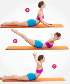 Pilates Moves for a Strong, Sexy Back | Womens Health Magazine  Check out this website