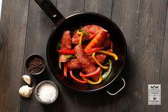 Our Capital Ham Sausage made locally in Edmonton, Alberta, Canada. #YEG.