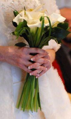Winter wedding bouquet by eleanor_rose_martin, via Flickr