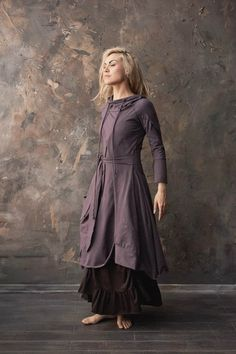 Mori Girl Fashion, Modest Fashion, Boho Fashion, Autumn Fashion, Fashion Design, Vetement Hippie Chic, Modern Witch Fashion, Kaftan, Fairy Clothes