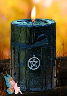 Witch Crafted Candles + Votives - pagan wiccan witchcraft magick ritual supplies