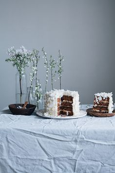Carrot cake by Call me cupcake, via Flickr