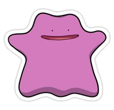 Pokemon Ditto, Tumblr Stickers, Aesthetic Stickers, Printable Stickers, Laptop Stickers, Preschool Crafts, Sticker Paper, Plushies, Girly Things