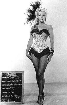 Marilyn Monroe hair and costume test - Marilyn Monroe costume and hair test - allvip.us