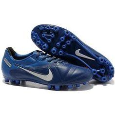 http://www.asneakers4u.com Nike CTR360 Maestri II AG Mens Artificial Grass Football Cleats In Dark Blue White Orange
