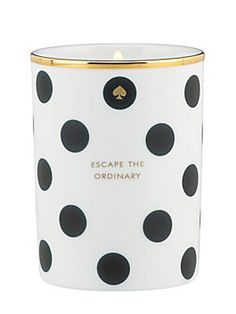 kate spade new york scented candle - escape the ordinary $40