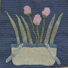 Linen Closet Quilts: Little Wooly Baskets Blocks 7&8