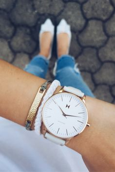 The Beverly watch from our Boulevard Collection <3 #mvmtwatches #jointhemvmt