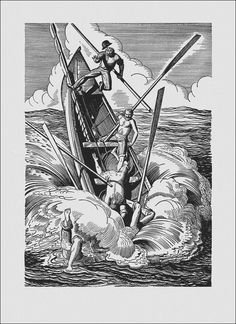 read the complete book and enjoy the drawings here! 'Moby Dick or, The Whale' by HERMAN MELVILLE. Random House, New York, 1930. Illustrated by Rockwell Kent. http://book-graphics.blogspot.nl/2013/08/moby-dick-or-whale-illustrated-by.html