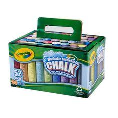Crayola Sidewalk Chalk 52-Pack