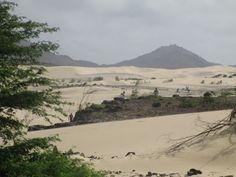 Sand dunes, Boa Vista, Cape Verde