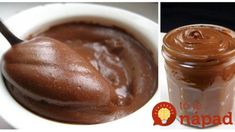 To je nápad! Nutella, Sweet Breakfast, Sweet Recipes, Frosting, Sweet Tooth, Food And Drink, Low Carb, Pudding, Sweets