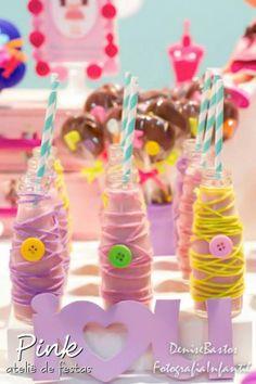 Lalaloopsy - Cute as a Button themed birthday party with SO MANY CUTE IDEAS via Kara's Party Ideas | Cake, decor, cupcakes, recipes, favors,...