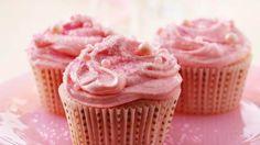Strawberry Margarita Cupcakes recipe from Betty Crocker
