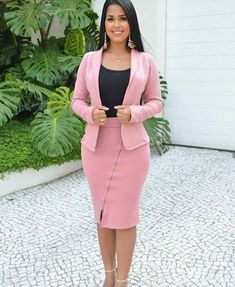 Classy Dress, Classy Outfits, Chic Outfits, Casual Work Outfits, Pretty Black Dresses, Nice Dresses, Corporate Attire, Corporate Fashion, Fashion Wear