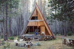 When it comes to cabin, cottage and home design, we can't get enough of those A-frames. The layout became popular in the 1960s and is back in a big, big way.Here are some A-frames that we think are...