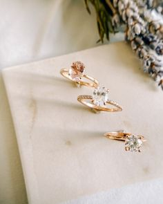 Rose Gold rings Antique Rings, Vintage Rings, Modern Engagement Rings, Fine Jewelry, Jewellery, Wedding Wishes, Wedding Bands, Gold Rings, Rose Gold