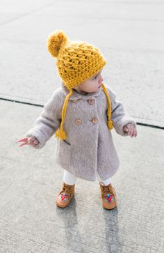 Seriously cute and cosy toddler style