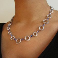 Customizable Moebius Chainmaille Necklace
