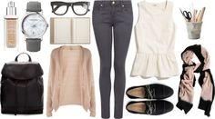 "Today's theme ""Geek Chic"" #fashion"