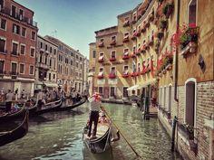 Designer Clothes, Shoes & Bags for Women Boat, Italy, Street, Places, Vintage, Design, Women, Venice, Dinghy