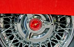 Ford Images by Jill Reger - Images of Fords - Ford Thunderbird Wheel Emblem