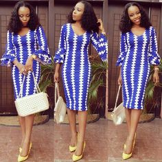 Beautiful Ankara Gown Design - DeZango Fashion Zone
