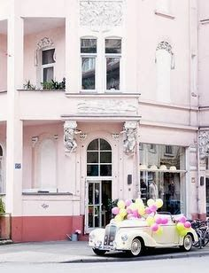 FrenchBlue: The Paris Apartment Book Signing Perfect Pink, Pink Love, Pretty In Pink, Pale Pink, Perfect Party, Pink Yellow, Cuba, I Believe In Pink, Pink Houses