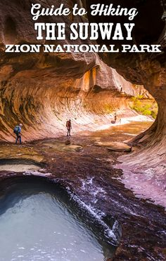 Guide to Hiking The Subway in Zion National Park Day hike to The Subway—one of the most AMAZING destinations in Zion National Park. This hiking guide includes trail description, essential gear, photo tips, safety, permits and much more! Capitol Reef National Park, National Parks Usa, Narrows Zion National Park, New Orleans, Places To Travel, Places To Visit, Hiking Guide, Hiking Gear, Las Vegas